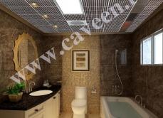 Алюминиевые подвесные потолки Caveen